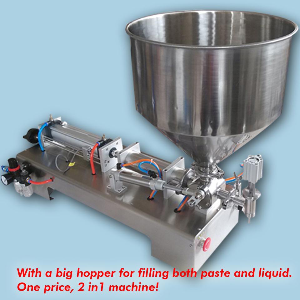 5ML-100ML,with single head paste liquid filling machine, cream oil chilly sauce - YOLI Group company store
