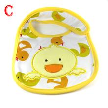 Baby Towel Saliva Waterproof New Kids Cartoon Pattern 3 Layer Toddler Lunch Bibs XL036 Free Drop