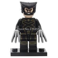 Single Sale Marvel DC Super Hero Avengers Minifigures Deadpool Batman Building Blocks Sets Model Bricks Toys legoelieds(China (Mainland))