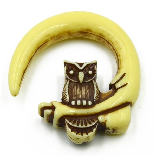 60pcs Owl Shape Pincher Acrylic Flesh Plug Ear Guage Taper Expander Piercing Jewelry New Fashion <br><br>Aliexpress