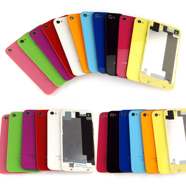 Back Cover Housing Case Battery Door Rear Glass Replacement iPhone 4 - Emily Shaw's store
