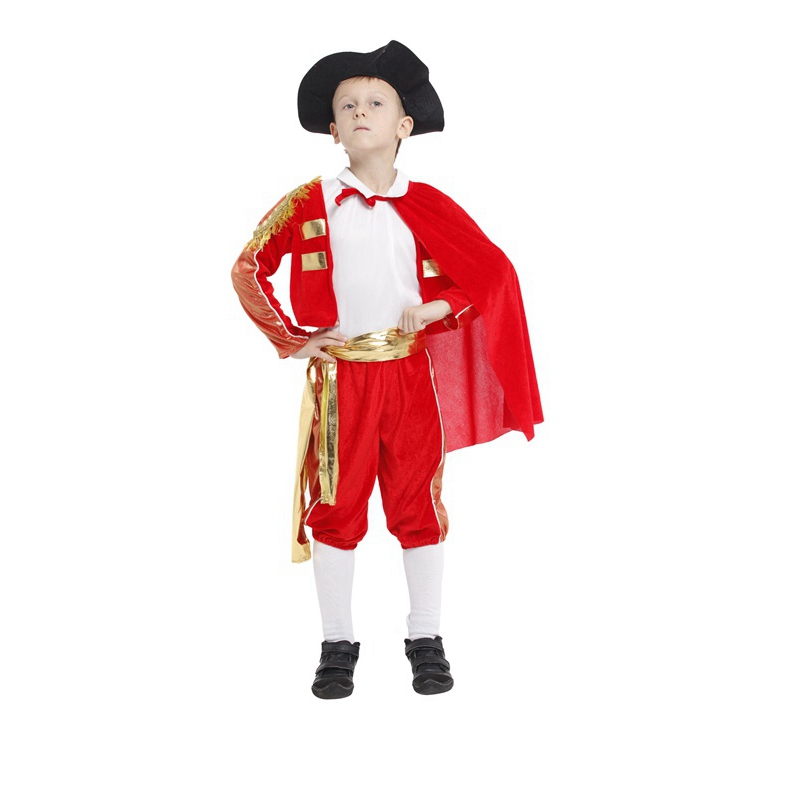 Popular Boys Matador Costume-Buy Cheap Boys Matador Costume lots from China Boys Matador Costume ...