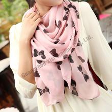 Good quality women chiffon scarf cm chiffon women long scarf shawl scarves wrap new design silk scarves china green with blue(China (Mainland))