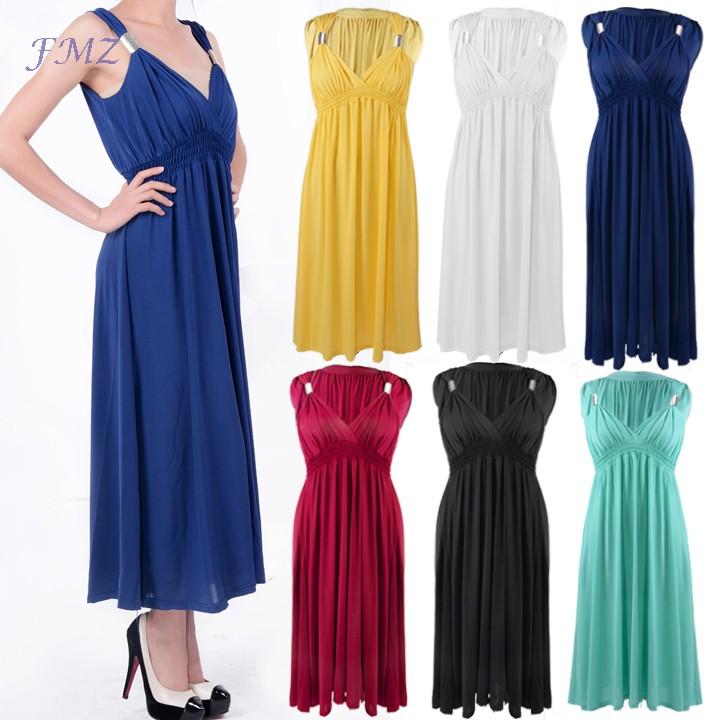 wholesale 6 colors summer dress 2014 a line long chiffon