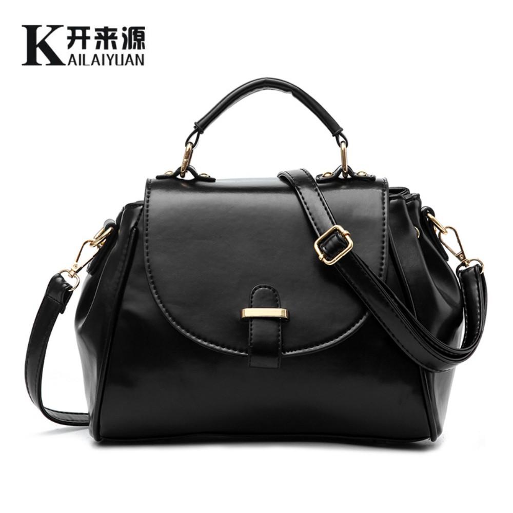 Kai 100% Genuine leather Women handbags 2016 New female Korean fashion handbags leather bag type Messenger Shoulder Bag(China (Mainland))