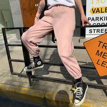 ホットビッグポケット貨物パンツ女性ハイウエストルースストリートパンツだぶだぶ戦術的なズボンヒップホップ高品質ジョギングパンツ(China)