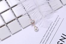 Semplice Fisso Zircone Antiscivolo Non-Slip Spilli Fibbia Spilla di Perle Spille per Le Donne Cardigan Vestiti di Sicurezza Clip Risvolto Spille accessori(China)