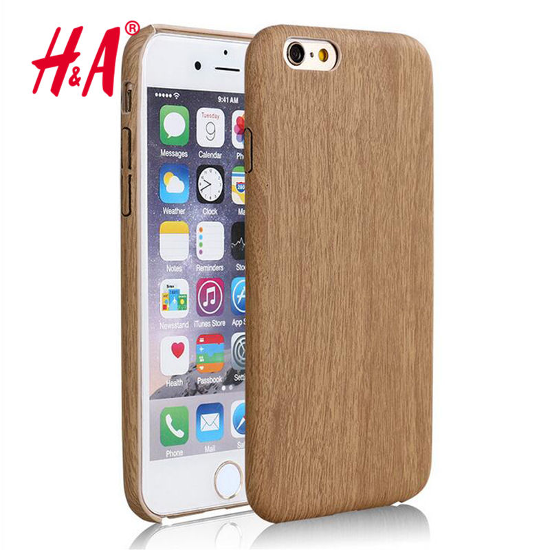 Luxury Wooden Pattern TPU Cover For Apple iPhone 6 Case Wood Grain Back Shell For iphone6 6S 4.7 Coque Capa Phone Cases(China (Mainland))
