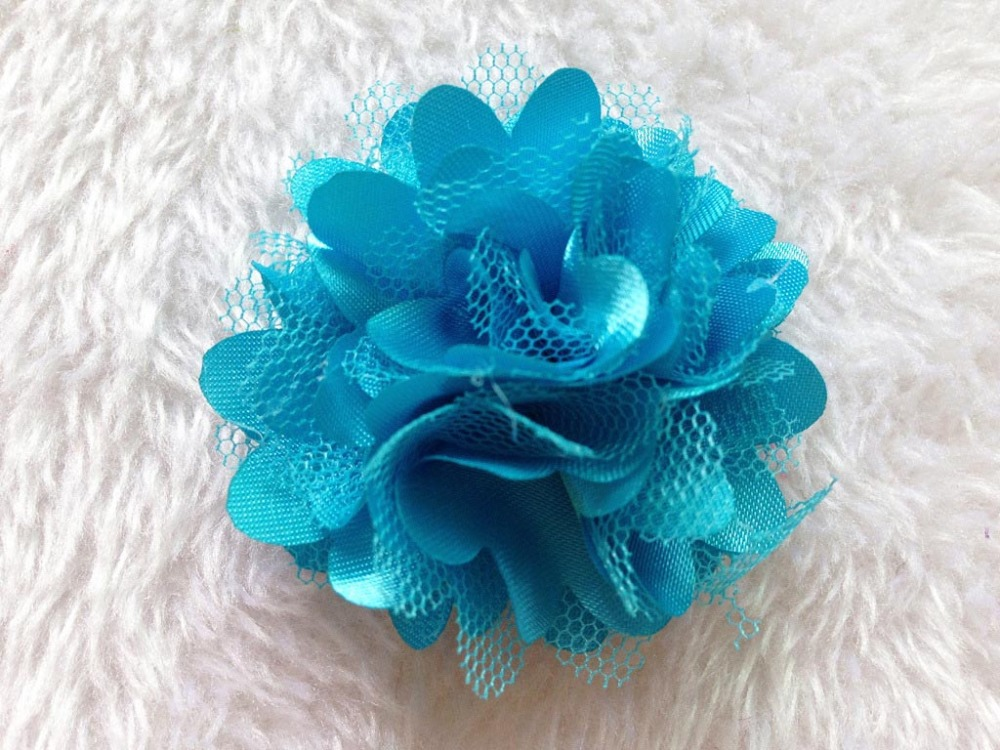 5CM High Quality Lace Yarn Small Fabric Roses Heads,Bridesmaid Wrist Corsage,Baby,Girl Hair Wreath,DIY Decoation For Hats,Shoe(China (Mainland))