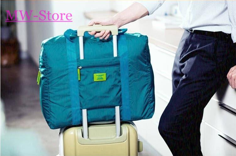 2015 Fashion Brand Sports Travel Bag Unisex Large Capacity Nylon Folding Bag Women Luggage Travel Handbags Bolsa Free Shipping(China (Mainland))