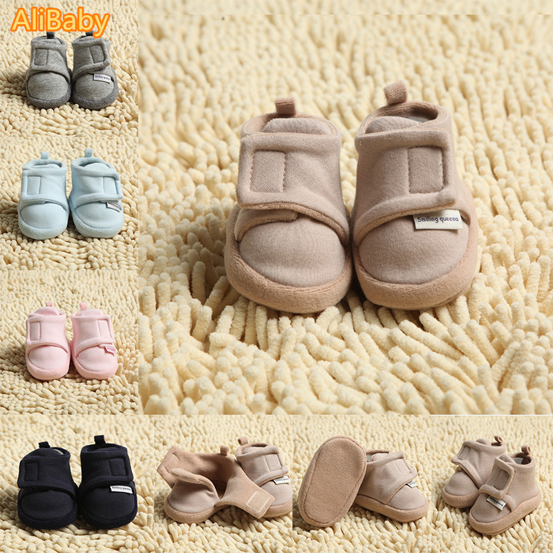 Spring and autumn cotton-made shoes 0 - 1 - 2 years old autumn and winter baby toddler shoes male child their cotton-made shoes<br><br>Aliexpress