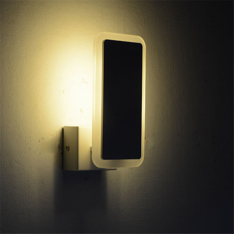 led 5730smd 6w indoor lighting acrylic wall lamp