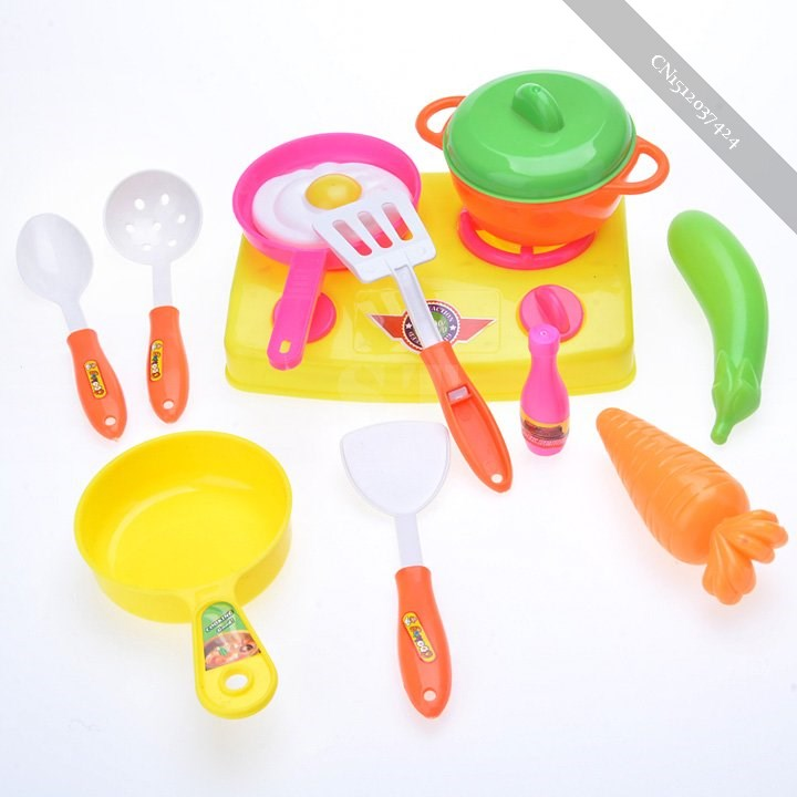 New 13PCs Set Toy Kids Child Kitchen Cooking Tools Toy