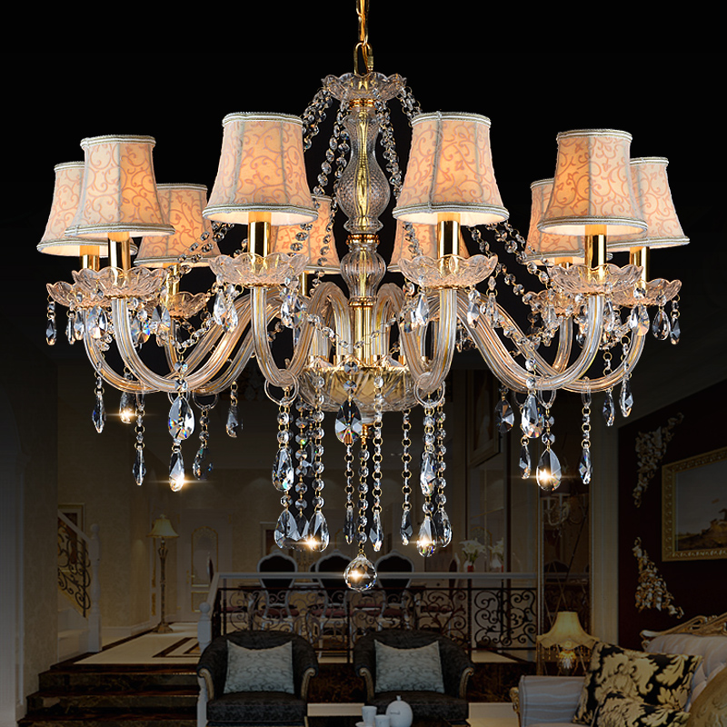 Modern crystal Chandelier lampshades Lighting K9 lustres de teto cristal moderne lampe Bedroom Kitchen Dining chandeliers lamp(China (Mainland))