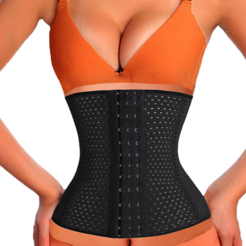 Women Hot Body Shaper Slim Waist Tummy Belt Waist Shaper Cincher Underbust Control Corset S-3XL Slimming Shaper Waist Trainer