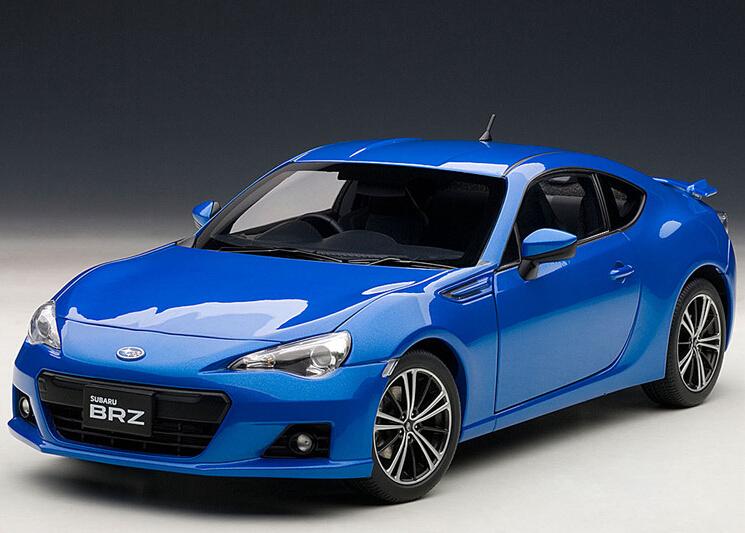 2015 hot sell Subaru BR-Z 1:18 alloy car model(China (Mainland))