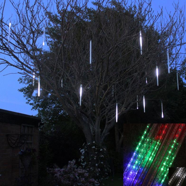 50cm Meteor Shower Rain Tubes Christmas Lights Led Lamp 100-240V Outdoor Holiday Light New Year Decoration FREE SHIPPING(China (Mainland))