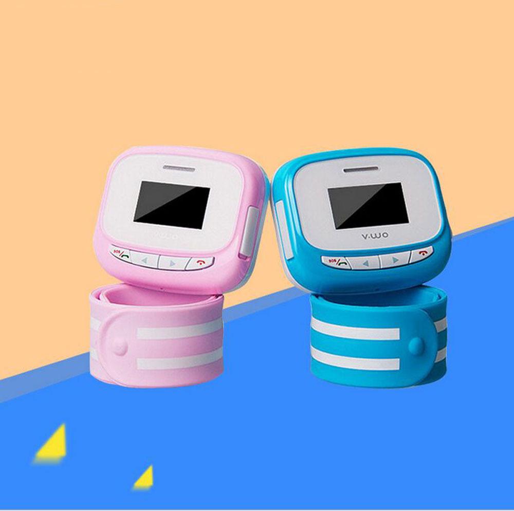 2015 New V WO Children Kid Old Locator Smart Watch Sim Phone Bracelet Wristwatch Support Make