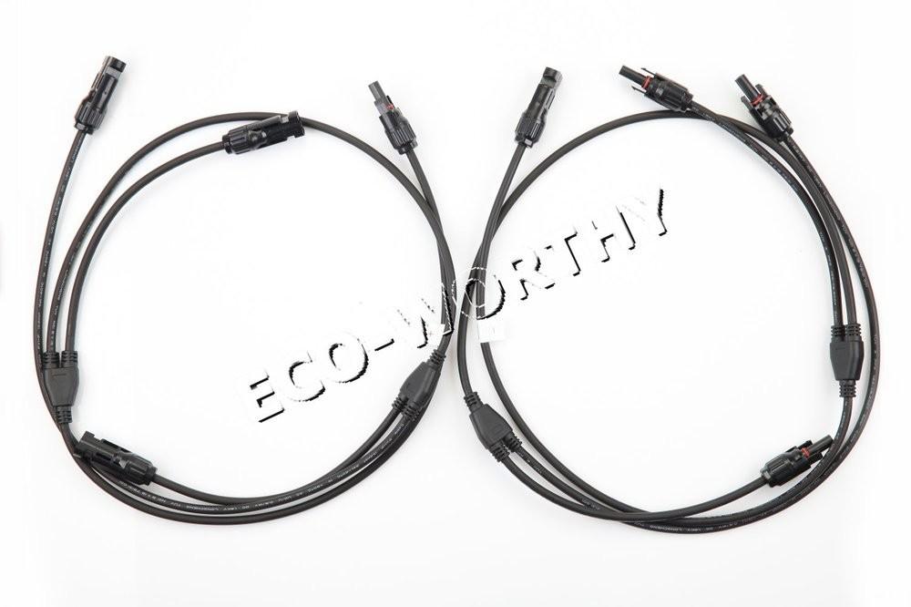 de stock large eu style 300w complete kit  3 100w watt pv