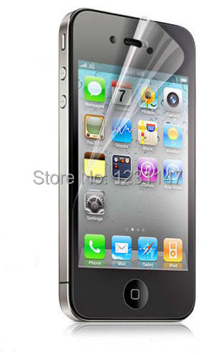 screen protector ForiPhone 4 4S,HD Clear Ccreen Protective Film Screen Guard for Iphone 4/4s
