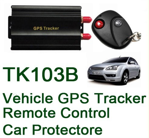 COBAN TK103B Vehicle/Car GPS tracker+Remote Control GPS103 Car Alarm Quad-band SD card slot PC&website GPS tracking system(China (Mainland))