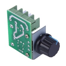 Free Shipping High Quality 1pc 2000W AC 220V SCR Electronic Voltage Regulator Module Speed Control Controller Worldwide Top Sale(China (Mainland))