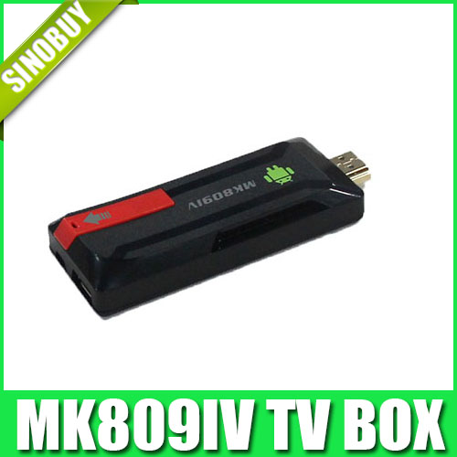 Quad Core RK3188 TV Box MK809IV Android 4.4.2 2GB RAM 8GB ROM Bluetooth Wifi Google HDMI TV box(China (Mainland))