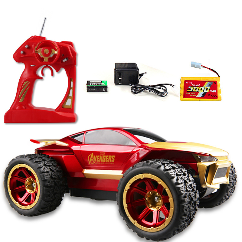 Electric Powered 4wd 1/10 Scale Models Brushless Motor Off Road Buggy Rc Car with Remote Control Y049(China (Mainland))