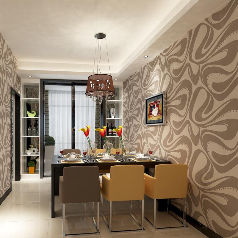 Gris papier peint promotion achetez des gris papier peint for Papier peint salon salle amanger