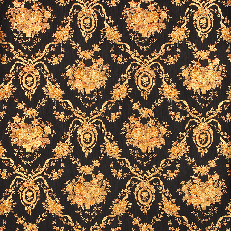 Popular black floral wallpaper buy cheap black floral for Cheap black wallpaper