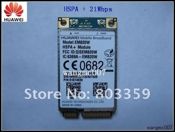 HuaWei EM820W WWAN 21Mbps HSPA + GPS For Laptop Netbook Tablet PC