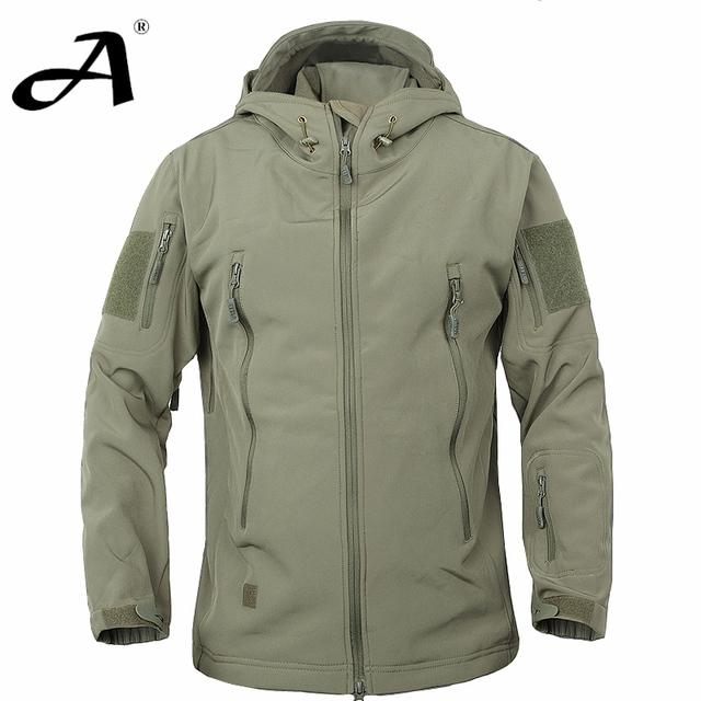 Армия камуфляж пальто военная куртка водонепроницаемая ветровка плащ одежда для охотников армия куртка мужчины открытый куртки и пальто, пуховик,пальто мужское, куртки, камуфляж, ветровка, пальто зимнее, куртки мужские