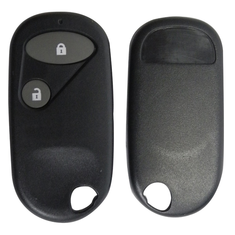 Replacement Remote Car Key Fob Case Shell Cover Styling Blank 2 Buttons For Honda Civic C-RV Accord Jazz With Logo(China (Mainland))