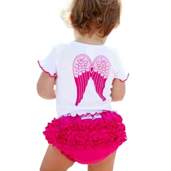 Angel Wings Newborn Carters Baby Girl Clothes Cotton Infant Baby Clothing Kids Suit Set Princess Enfant Children Summer Wear