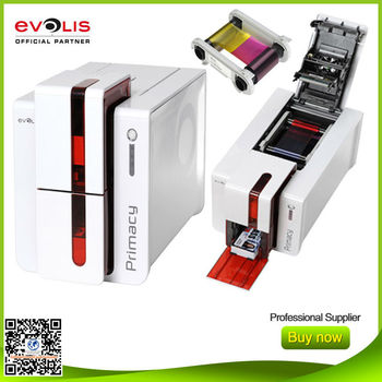 evolis primacy single sided desktop plastic id card printer