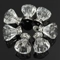 High Quality 12pcs Acrylic Crystal Door Drawer Knob Pull Handle Cabinet Cupboard Clear