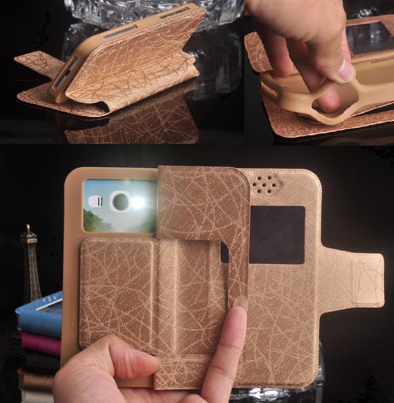 Goophone i5 Pro Case, Flip Leather Silicon Phone Cases for Goophone i5 Pro Hero H2000+ Free Shipping(China (Mainland))