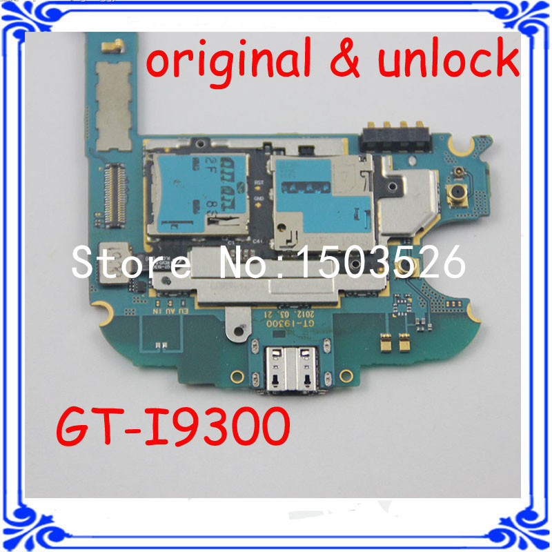 good working i9300 motherboard original mainboard for samsung S3 GT-I9300 16GB logic board full function board with Android(China (Mainland))