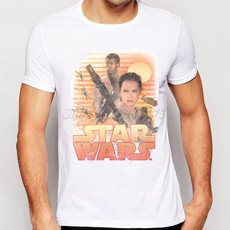 Buy 2016 new arrivals vintage star wars for Vintage star wars t shirts men