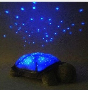 seconds kill quality goods sleep little tortoise starry night lamp projector SongQing people birthday gift Christmas creative gi