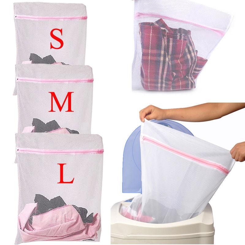 1/3 Pcs Underwear Aid Bra Socks Lingerie Laundry Washing Machine Net Mesh Bag(China (Mainland))