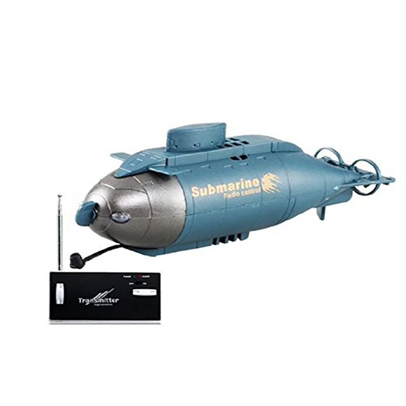 777-216 Mini 6-Channel 49MHz Radio Control Vertical Diving Floating RC Submarine B oat Toys Children Kids Gift