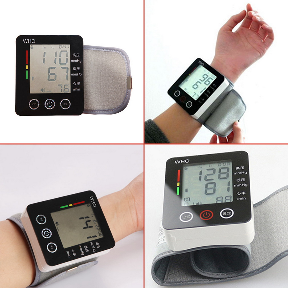 Drop Shipping CK-W132 Touch Wrist Blood Pressure Monitor Watch Medical Arm Meter Pulse <br><br>Aliexpress