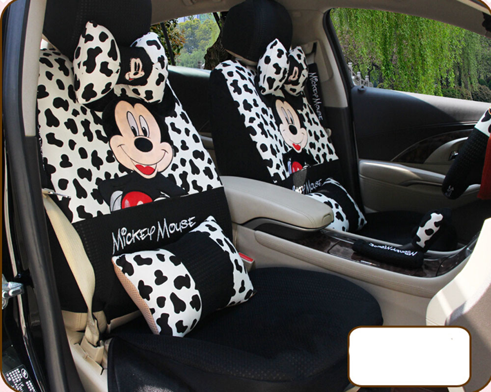 Mickey Mouse Toddler Car Seat Covers