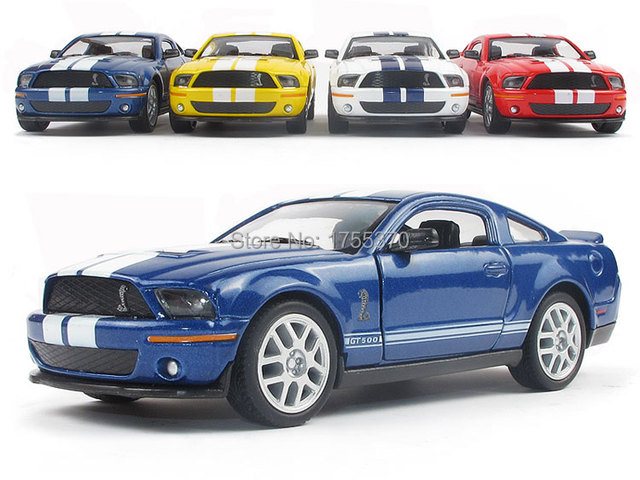 Kinsmart 1:38 5'' FORD 2007 Shelby GT 500 Cobra Alloy Model Toys Pull Back Car