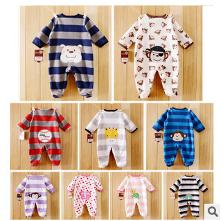 2015 FLEECE Carters Baby Bodysuits One-pieces clothes Retail Top Quality FREE SHIPPING(China (Mainland))