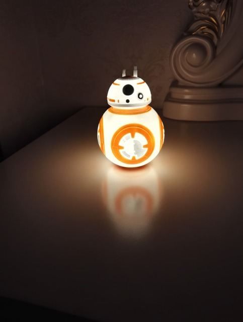 Star Wars Night Light in the Shape of Droid Robot