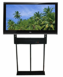 Electric rotation hidden tv lift with remote control ,hidden tv in the cabinet for 32-55 inch tv(China (Mainland))