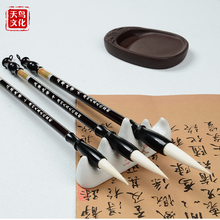 TT Chinese brush Calligraphy pen set high quality pure woolenchinese writing brushes calligraphy brush Lian brush 3 pcs/set