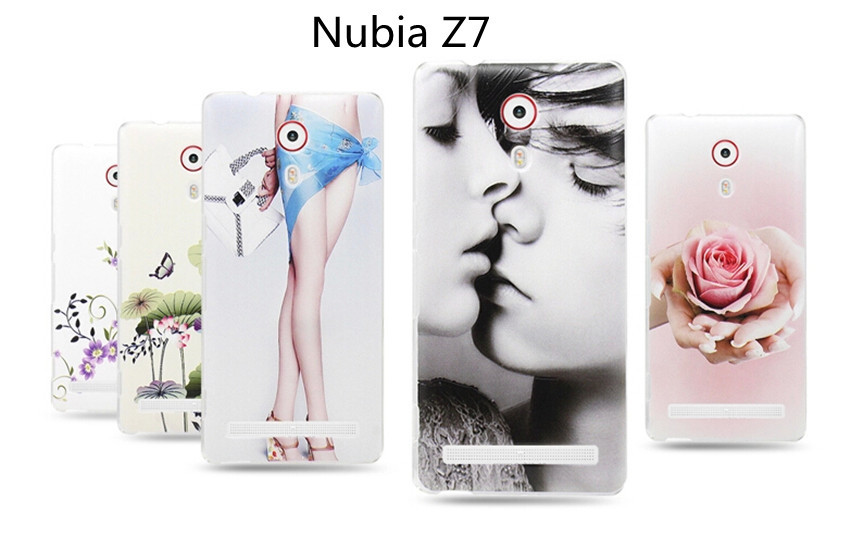 mobile phone plastic case for ZTC nubia z7 Ultra-thin protection case Non-slip Scratch Customieo new(China (Mainland))